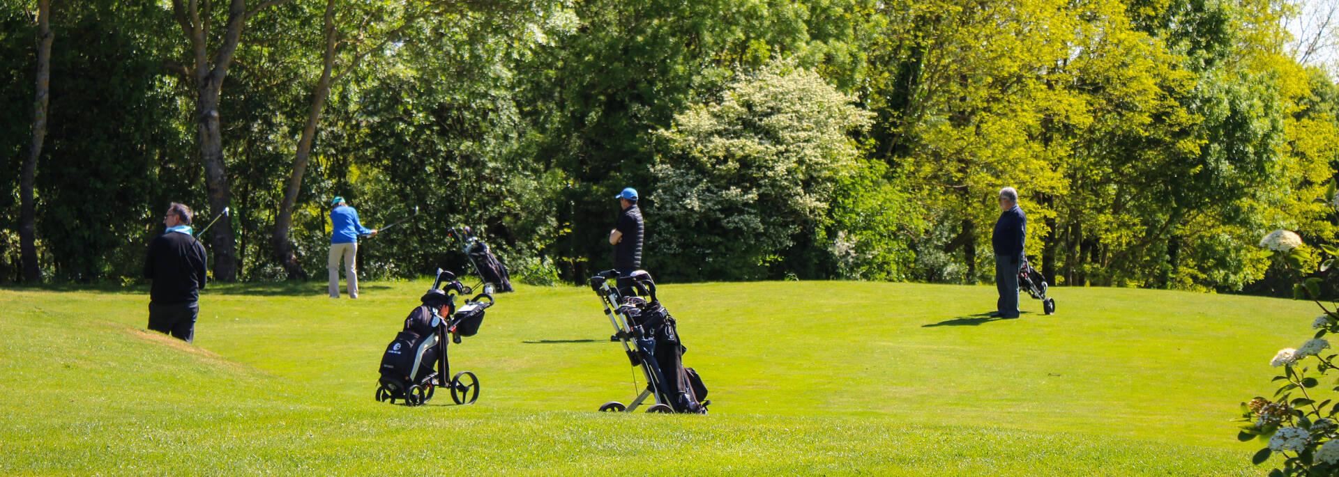 Rassemblement de compétiteurs de golf les dimanches - © Office de tourisme Rochefort Océan