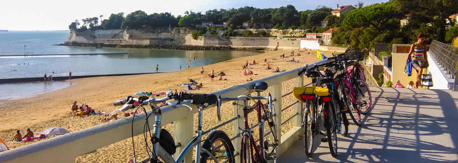 Halte plage à Fouras-les-bains - © Office de tourisme Rochefort Océan