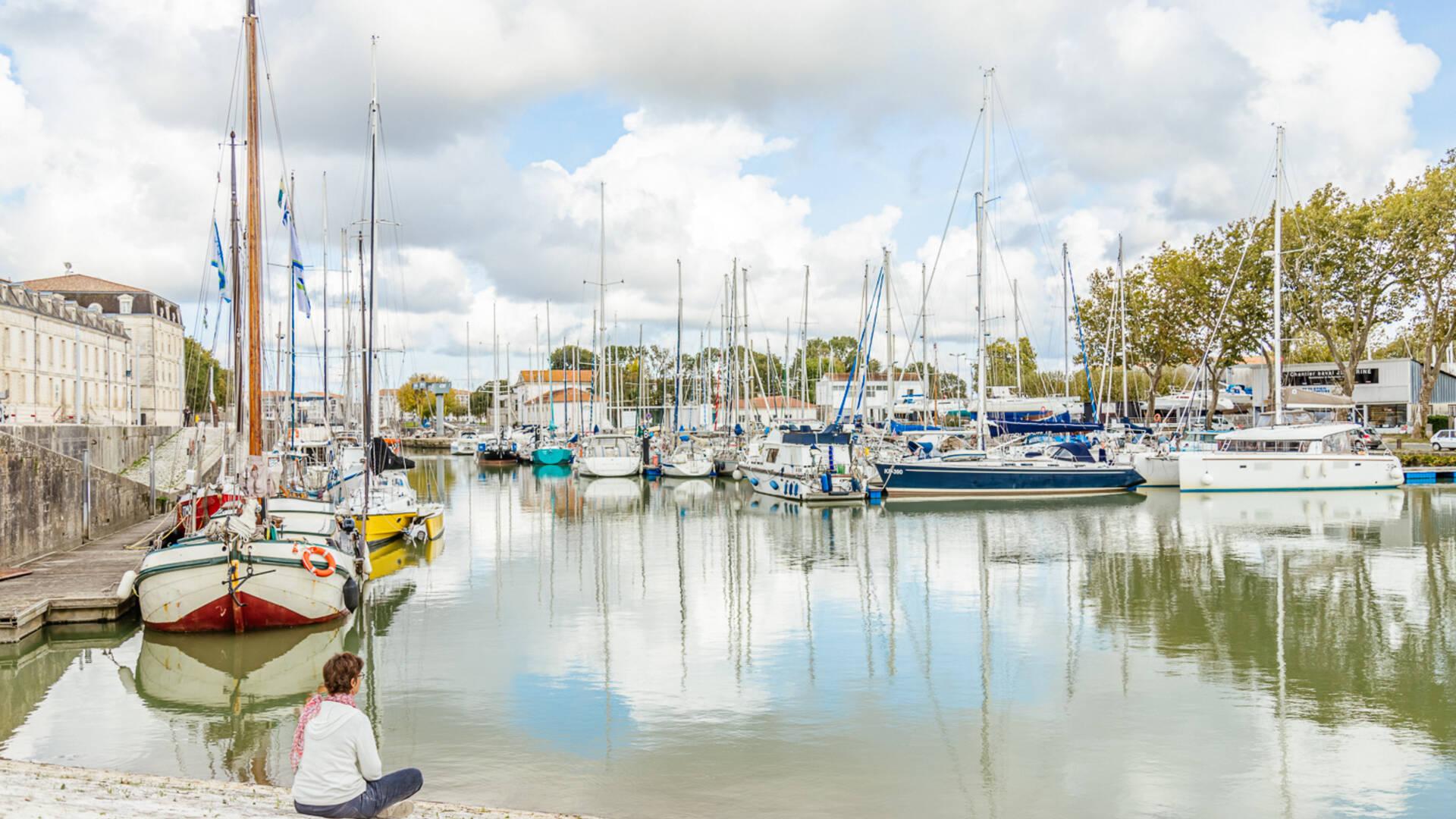 Port de plaisance de Rochefort © F.Makhlouf