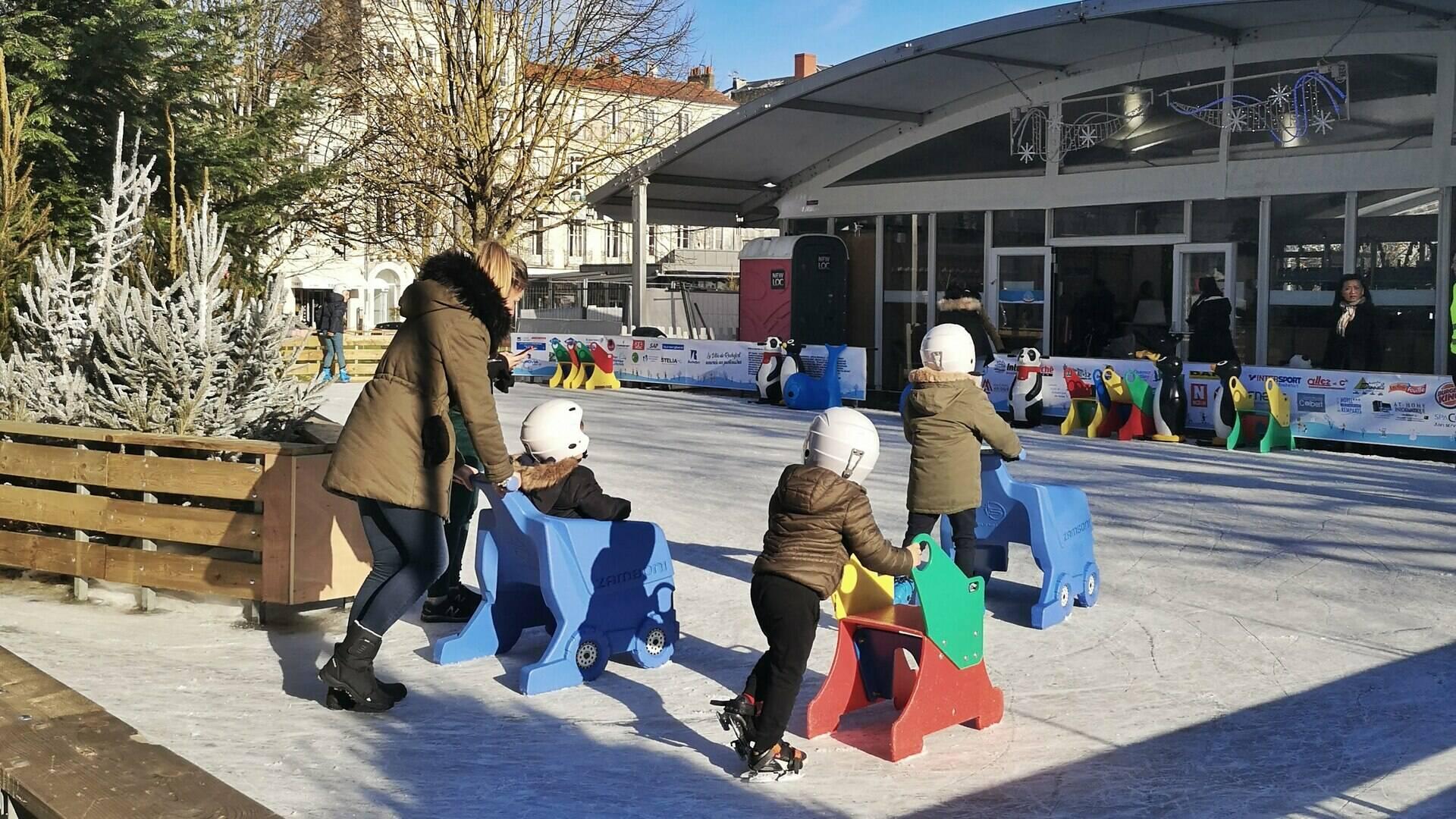 patinoire enfant rochefort