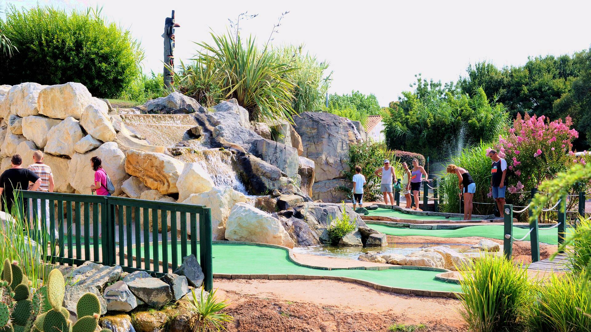 Fun Golf à Fouras les Bains ©Fun Golf