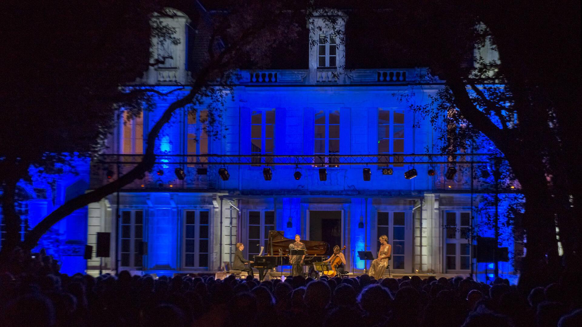 """Classical music festival """"Symphonie d'été"""" in Fouras-les-Bains - © Marie-Françoise Boufflet"""