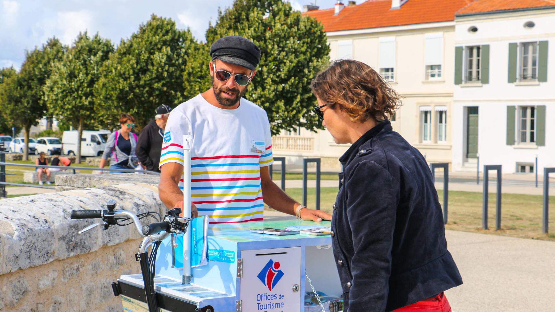 Ludovic vous conseille et vous guide le temps de votre séjour - © Office de tourisme Rochefort Océan