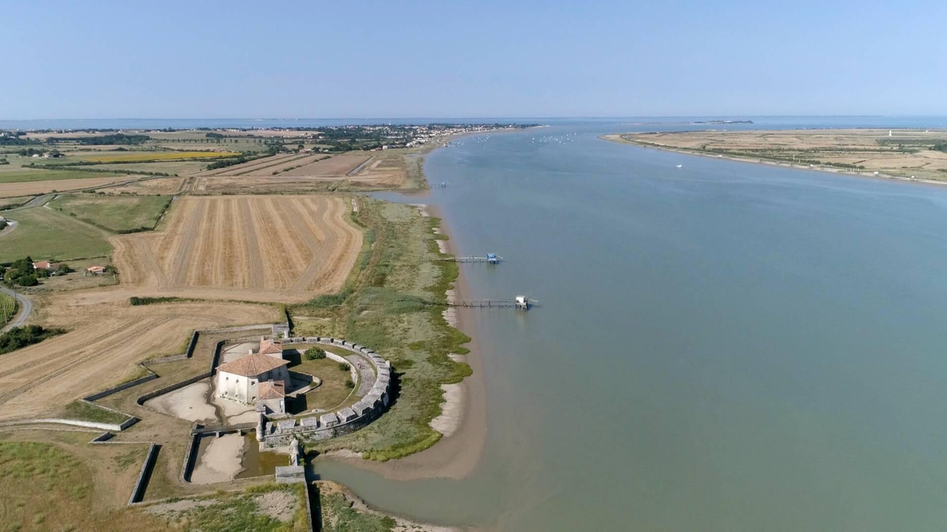 Fort Lupin et Estuaire de la Charente © N.Drobieux
