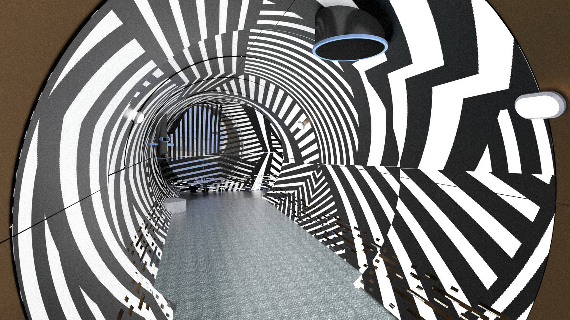 L'intérieur du périscope© CRP Design Global