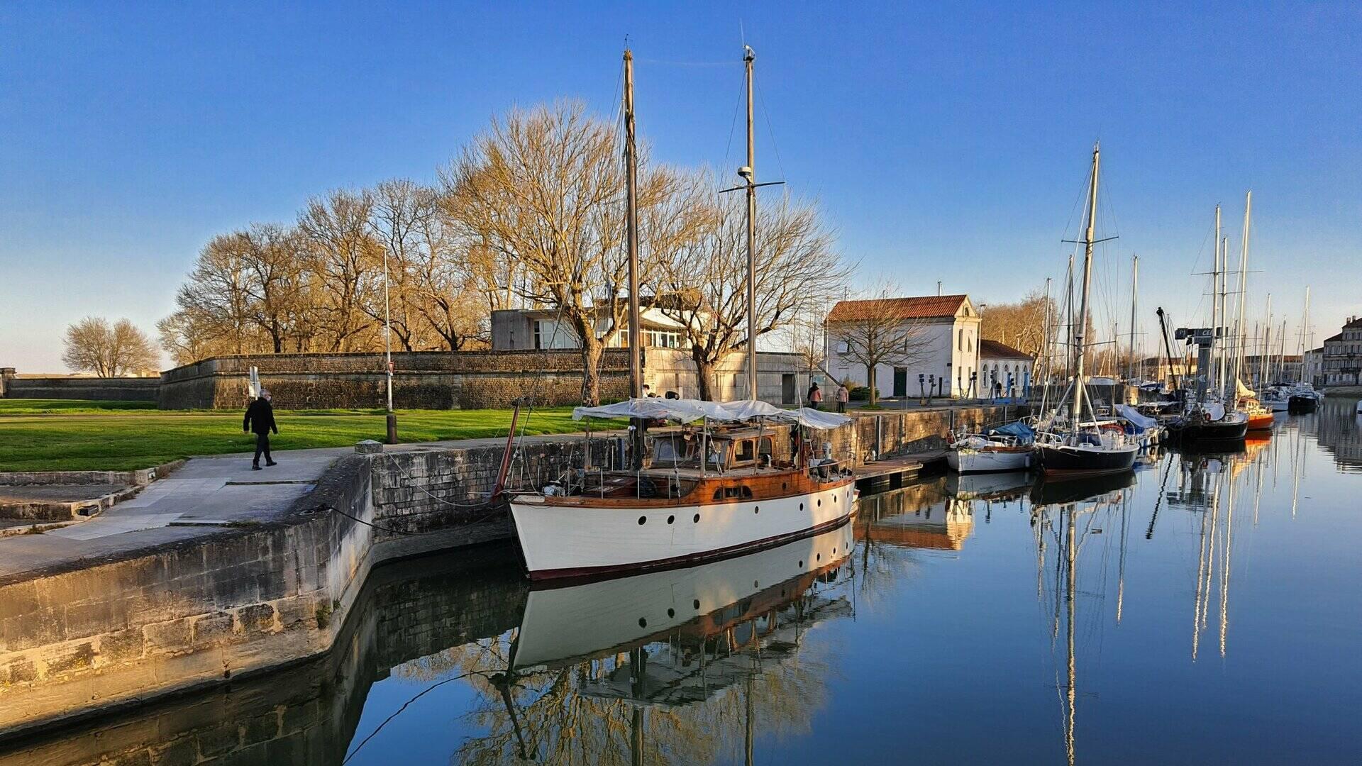 Port de plaisance de Rochefort © C.Ecale