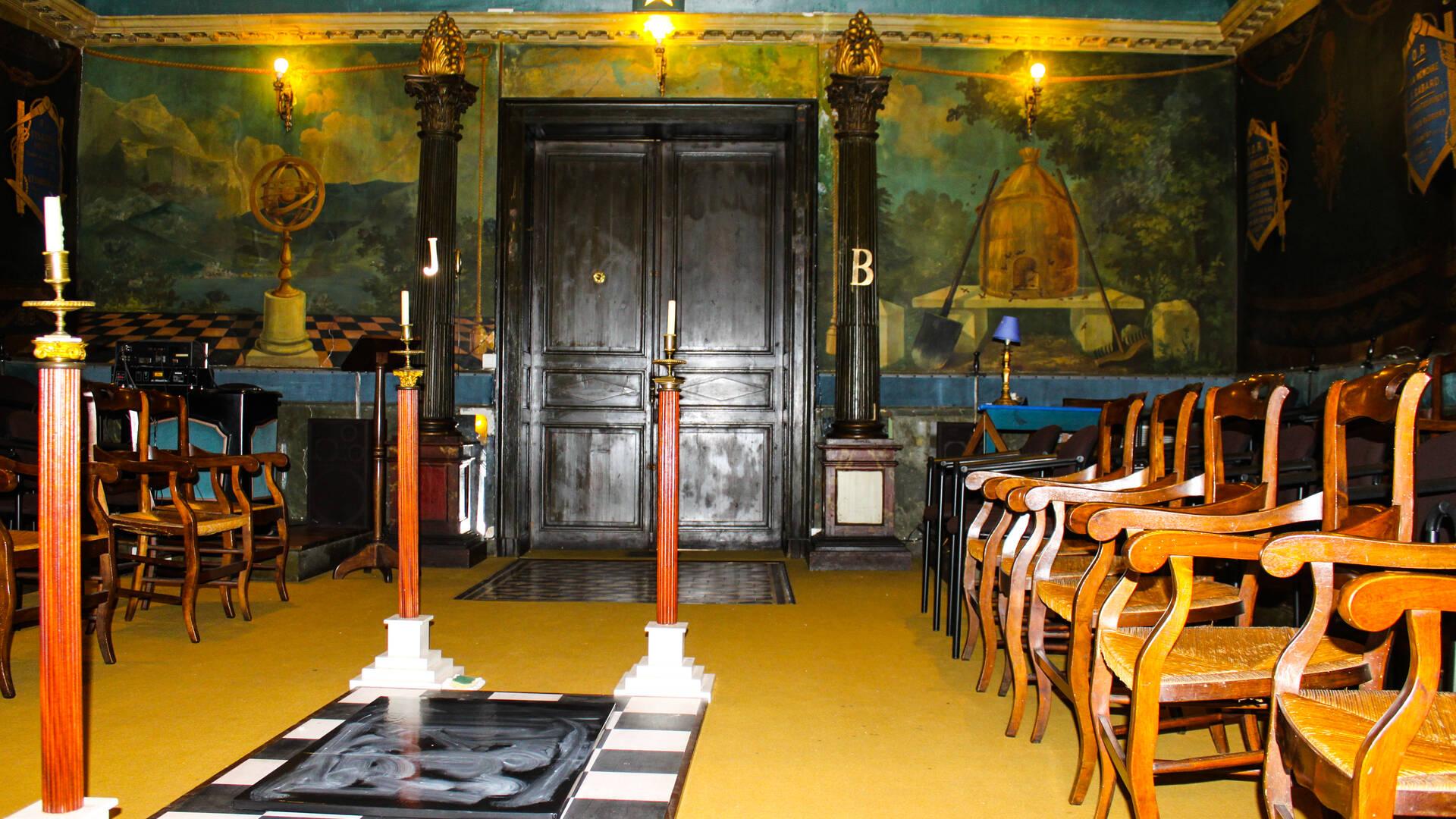 Héritage du passé, le Temple Maçonnique de Rochefort est le seul classé Monument Historique - ©Georges Lacaud
