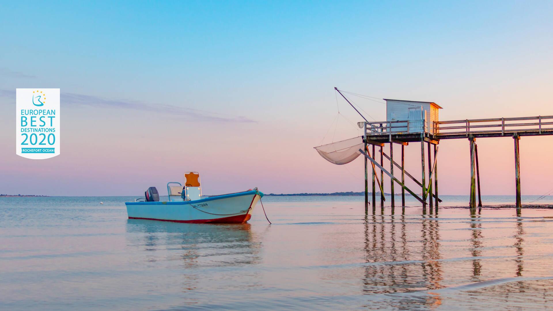 Carrelet devant l'Ile Madame ©Sam Hammad