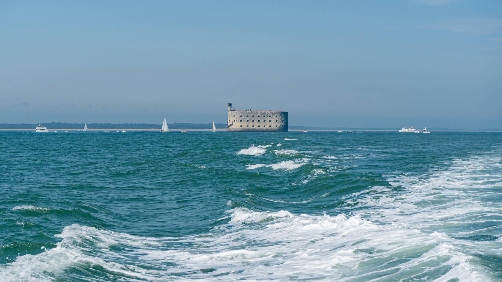 Croisières au Fort Boyard ©Sam Hammad