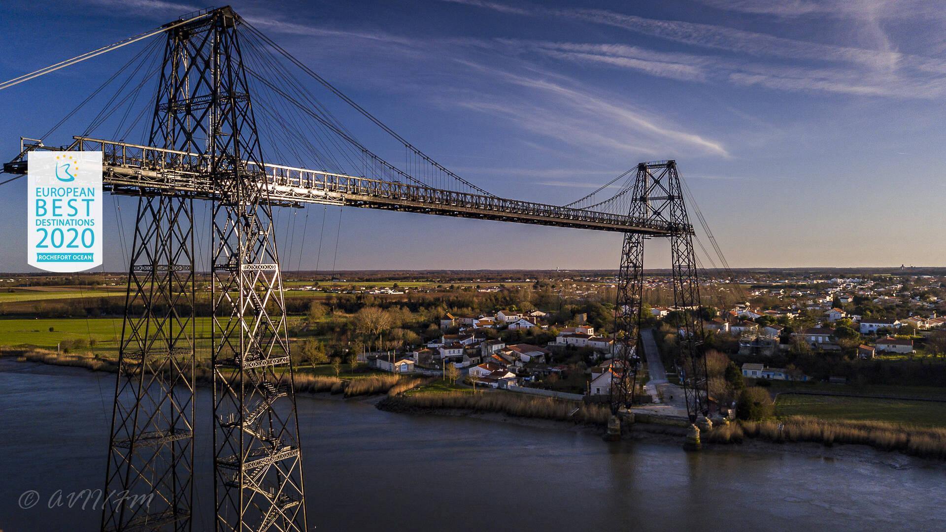 Pont transbordeur à Rochefort - réouverture juillet 2020 ©AVVI
