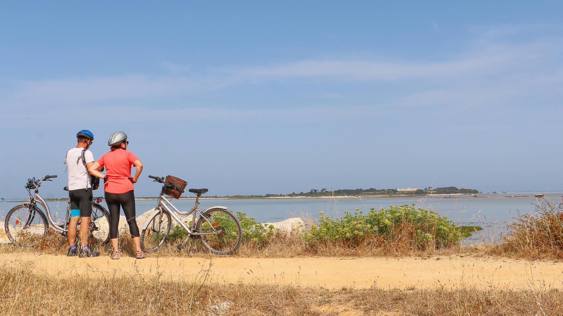 randonnée à vélo -Ile Madame ©M.De Villartay