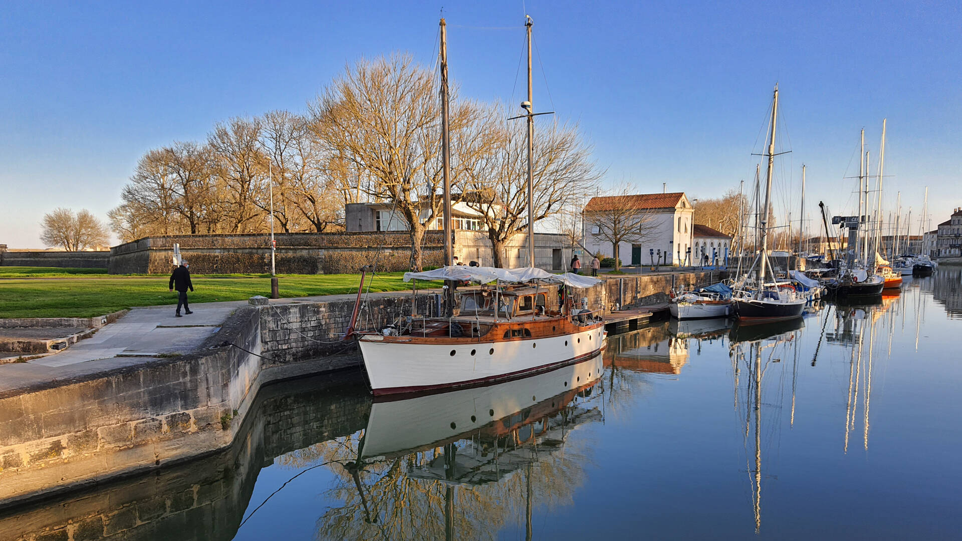 Port de plaisance Rochefort ©Chrystelle ECALE