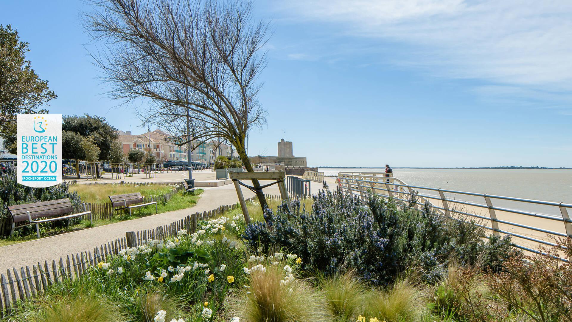 Front de mer de Fouras-les-Bains @Julie Paulet