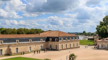La Corderie Royale de Rochefort en bord de Charente © D.Compain