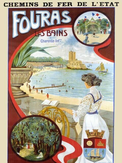 La Belle Epoque dans la station balnéaire de Fouras-les-Bains © Musée régional Fouras