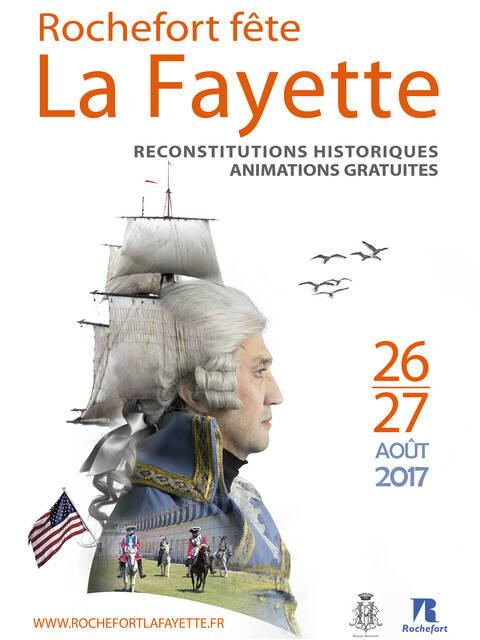 2017, Rochefort fête La Fayette