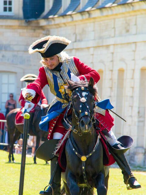 2017, Rochefort fête La Fayette, reconstitutions historiques