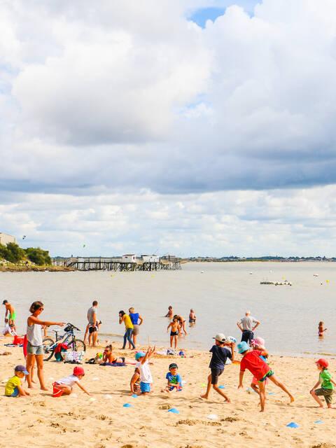 Les plages de Fouras-les-Bains, station balnéaire, Rochefort Océan, Charente-Maritime