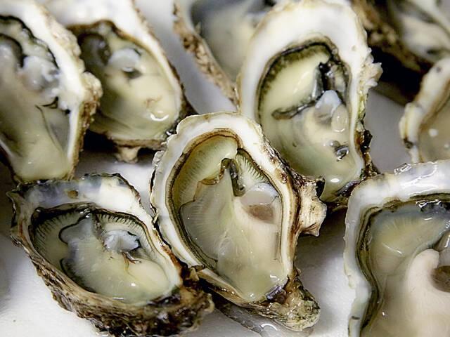 Ouverture des huîtres