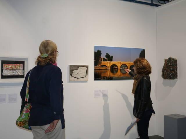 Corps de corde : oeuvre d'art contemporain de Christo © Office de Tourisme Rochefort Océan