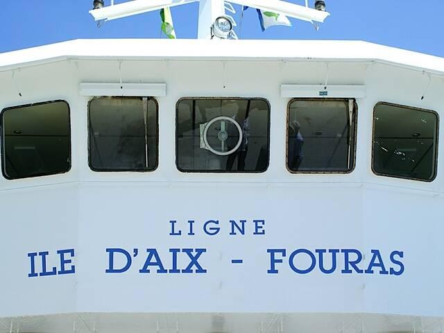 Bac Société Fouras Aix © S. Courtois