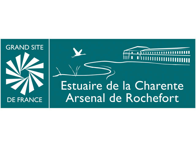 Logo Grand Site de France Estuaire de la Charente - Arsenal de Rochefort