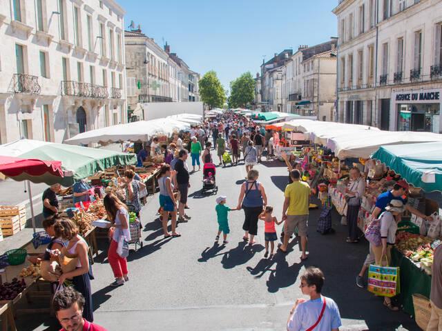 Le marché de Rochefort @ David Compain