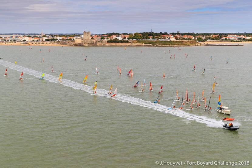 Fort Boyard Challenge 2018 ©Jérôme Houyvet