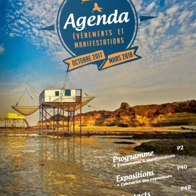 Agenda d'Autome 2017 et Hiver 2018 Rochefort Océan