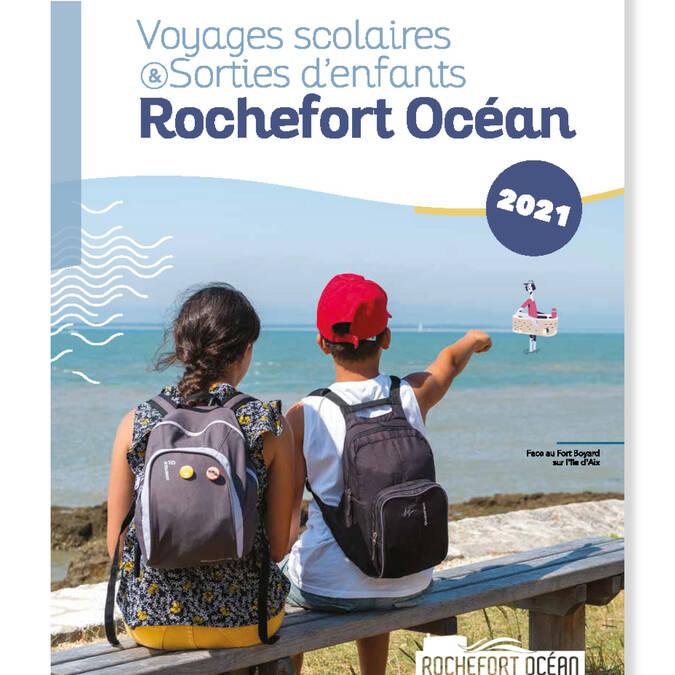 Brochure sorties d'enfants et voyages scolaires 2021