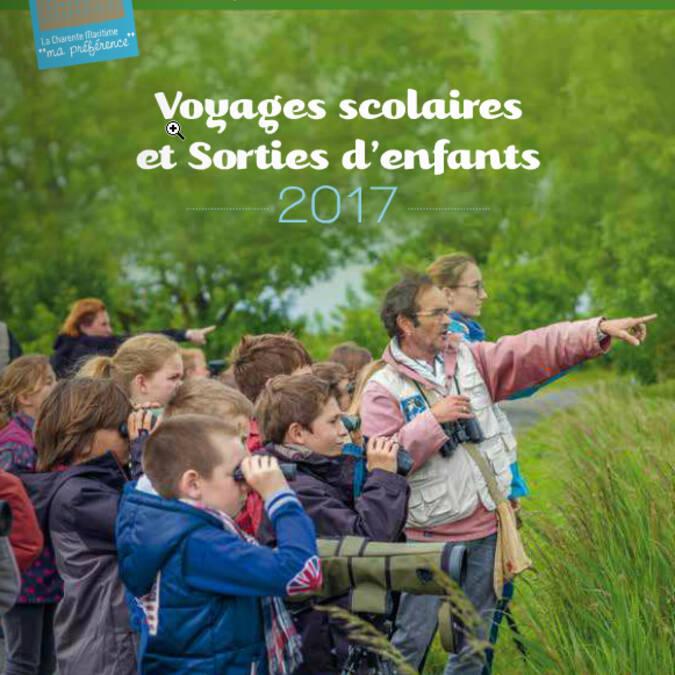 Brochure Voyages Scolaires & Sorties d'enfants 2017