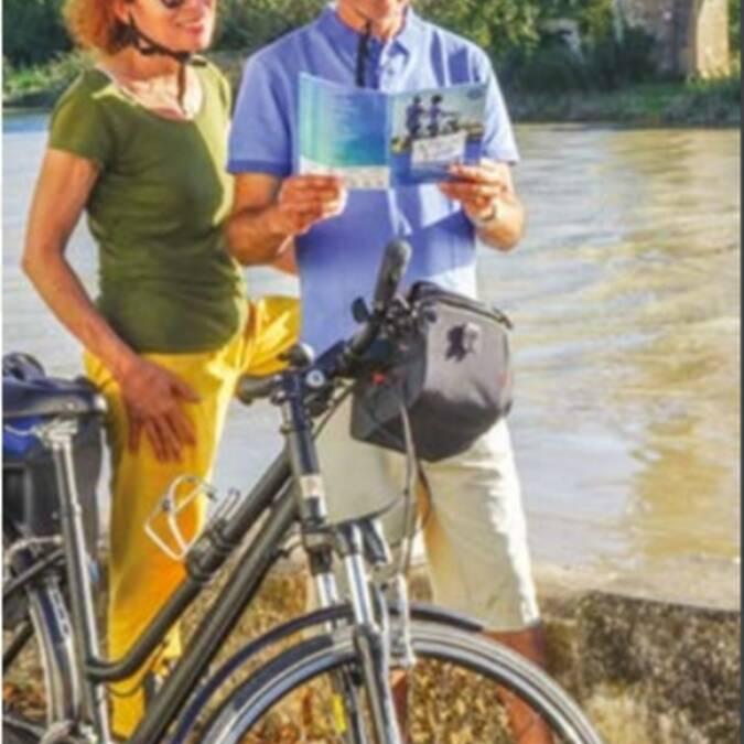 Carte des liaisons cyclables 2019 à Rochefort Océan