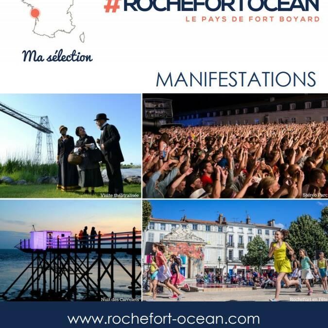 Agenda Rochefort Océan du 1er au 31 octobre 2021