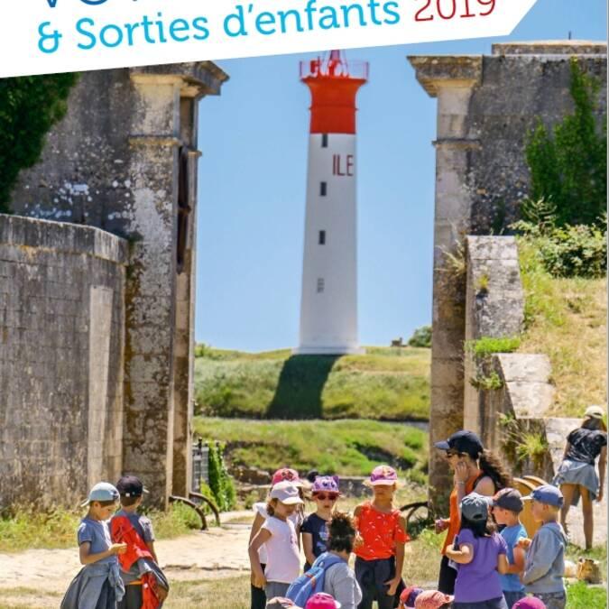 Brochure sorties d'enfants et voyages scolaires 2019