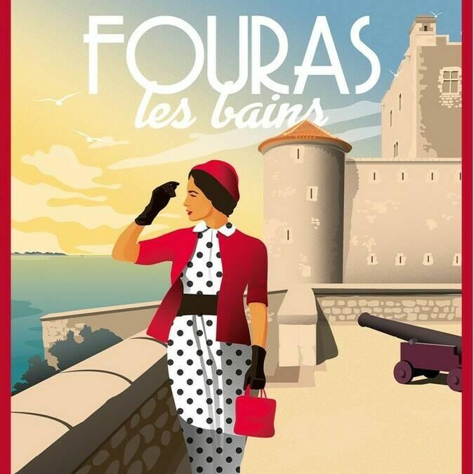 Illustration de Fouras par Doz Vintage
