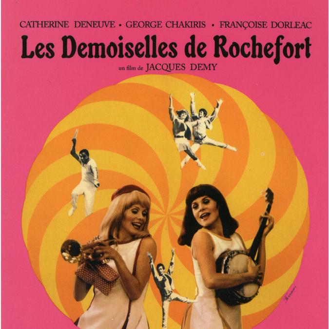 affiche-film-demoiselles-de-rochefort © Ciné-Tamaris