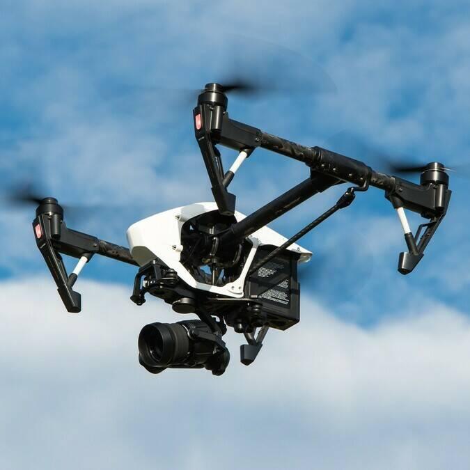 Photos aériennes avec un drone ©Pixabay