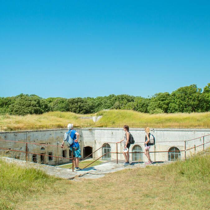 Fort Liédot sur l'Ile d'Aix©L.Pétillon