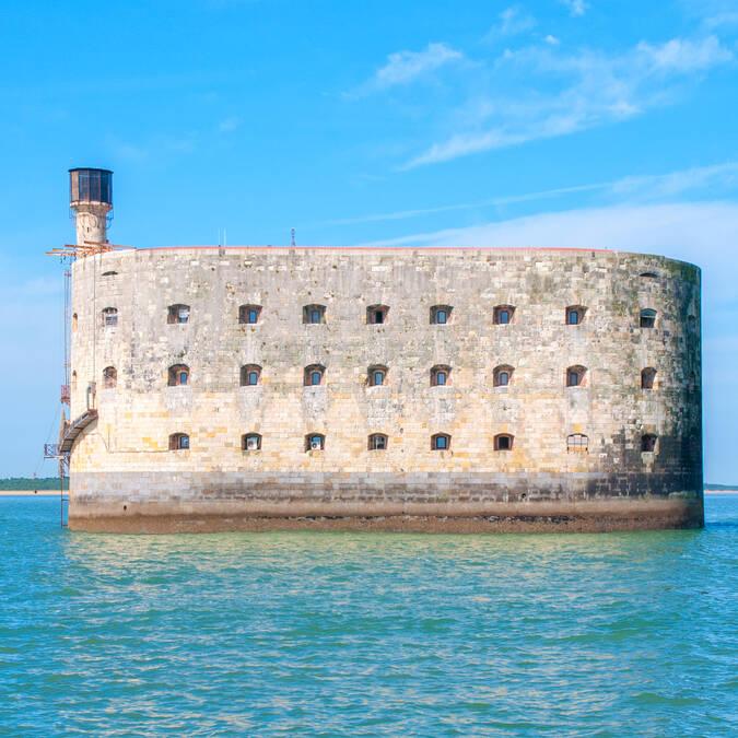 Le fort Boyard au large de l'île d'Aix - Rochefort Océan
