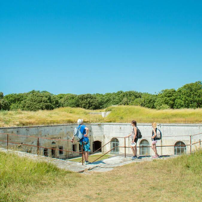 Le fort Liédot à l'île d'Aix - Rochefort Océan