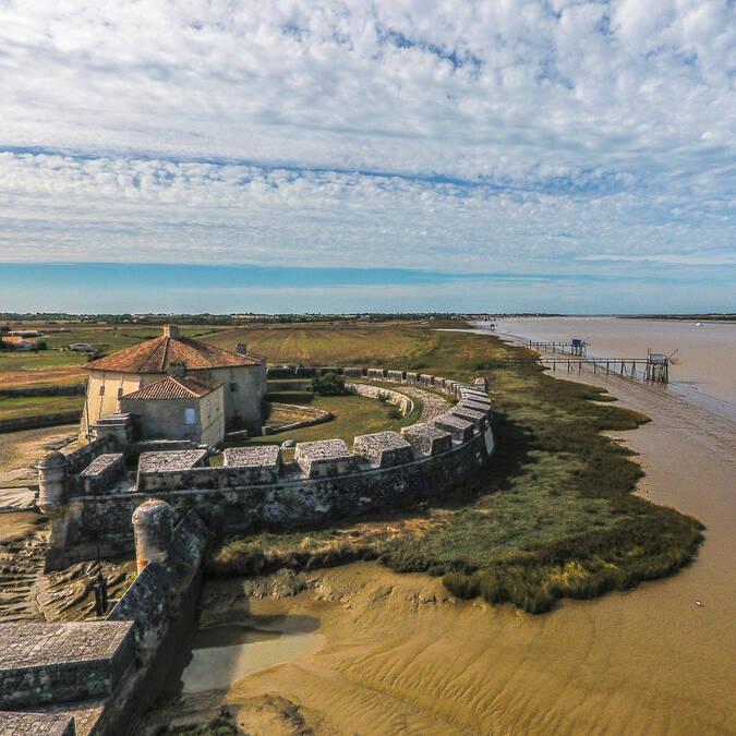 Le fort Lupin en bord de Charente - Rochefort Océan