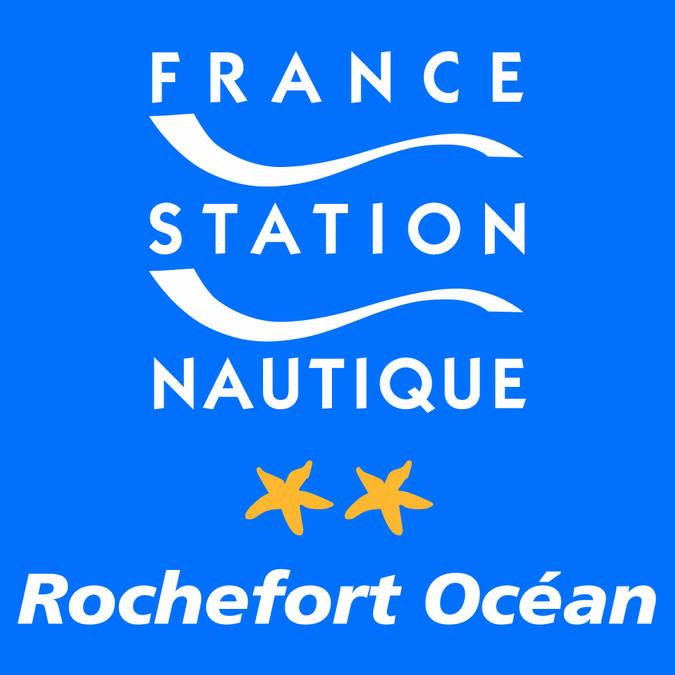 Logo Station nautique rochefort Océan