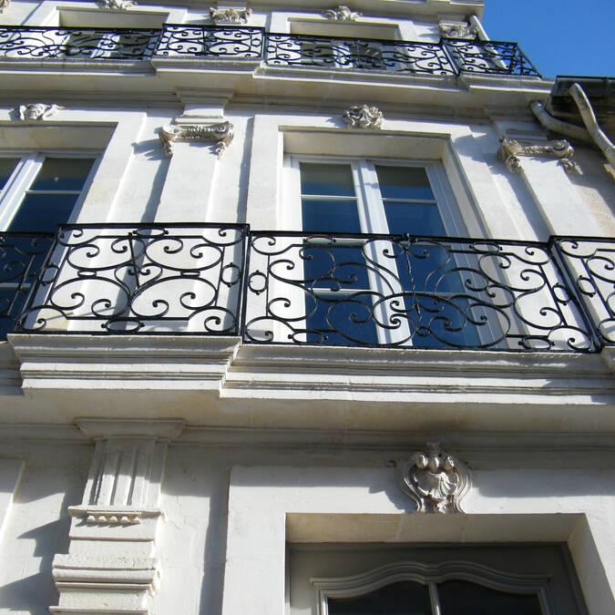Hôtels particuliers, centre ville de Rochefort - Rochefort Océan