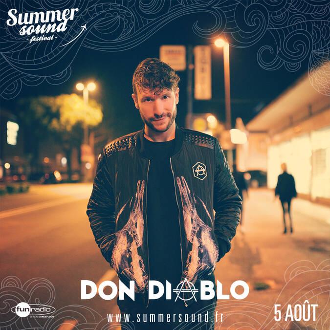 DJ Don Diablo - le 5 Août 2017
