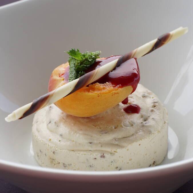Nougat glacé, restaurant L'Escale de Lupin, St Nazaire sur Charente, Rochefort Océan
