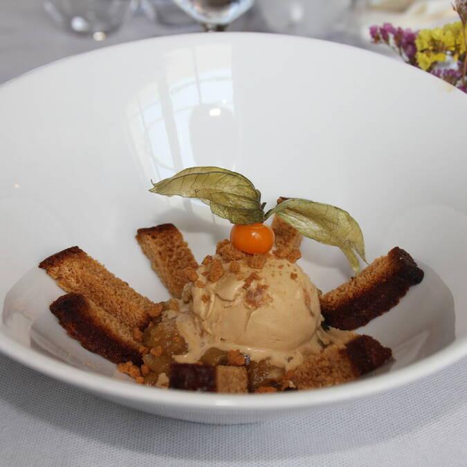 Pain d'épices, restaurant L'Escale de Lupin, St Nazaire sur Charente, Rochefort océan  ©M.Domenici