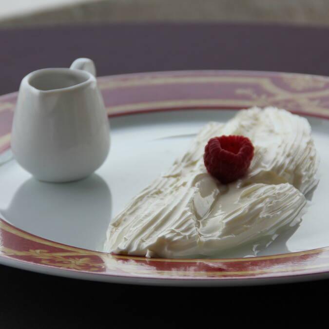 Jonchée, spécialité laitière, Rochefort Océan  ©M.Domenici