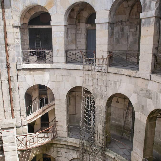Cell of Fort Boyard - © Marie-Françoise Boufflet