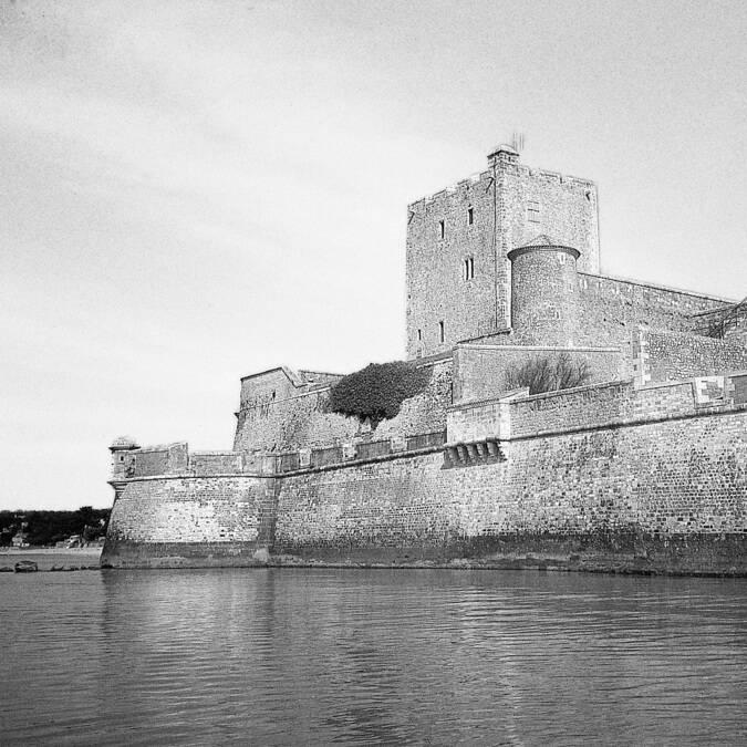 Photo ancienne du fort Vauban de Fouras-les-bains - © Lieu Public