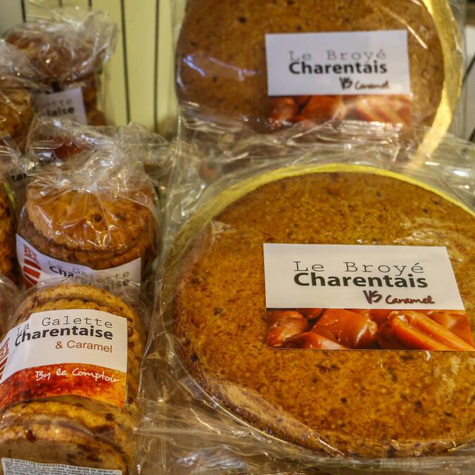Le marché des quatre saisons à Rochefort, galette charentaise, Rochefort Océan